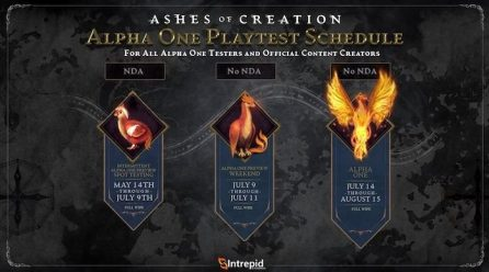 Ashes of Creation Alpha One Now Ending August 15